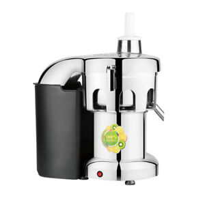 1 5hp Commercial Juice Extractor 3 Inches Feeding Inlet Etl Approval