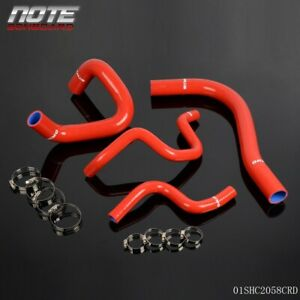 For Toyota Corolla Allex Runx Fielder 1nz Fe Silicone Radiator Hose Kit 00 07 01