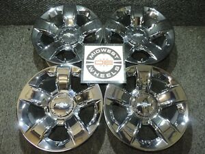 Silverado 20 Ltz Chrome Wheels Factory Oe 1988 2018 6 Lug Gm Tahoe Sierra Pc