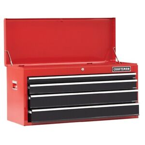 Craftsman 41 In 4 Drawer Steel Heavy Duty Top Tool Chest Box Storage Cabinet