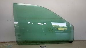01 07 Dodge Caravan Se Fr Rh Door Power Window Clear Glass Oem