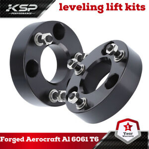 2 Front Leveling Spacer Lift Kit 2006 2020 Dodge Ram 1500 4wd Cnc Billet