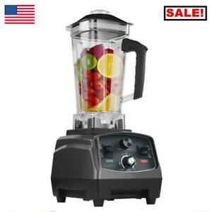 T5200 2l Heavy Duty Commercial Blender W timer 2200w Bpa free Fruit Juicer Us