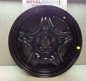 Toyota Rav4 2013 2016 17 Black Steel Wheel 1 Oem Oe