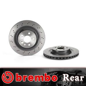 Rear Brembo High Performance Oe Brake Rotors For 2003 2006 Mercedes benz S55 Amg