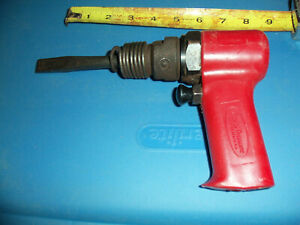 Florida Pneumatic Red Impact Hammer And Chisel Used
