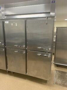Mccall Stainless Steel 4 Split Door Heated Holding Pass Thru Cabinet