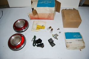 1965 Chevy Corvair Nos 986261 Back Up Light Kit