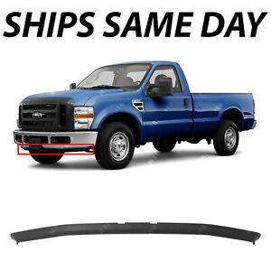 New Textured Gray Front Bumper Spoiler For 2008 2010 Ford F 250 F 350 Super Duty
