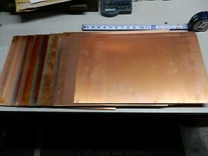 13 Copper Clad Ss Sheets Old Western Electric Stock Circuit Boards 12x18 10 5x18