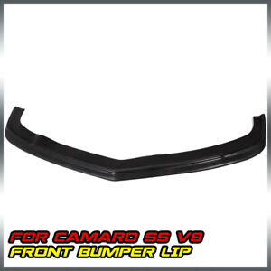 For Chevy Camaro Ss 2 Door Front Bumper Lip Spoiler Urethane Pu 2010 2013