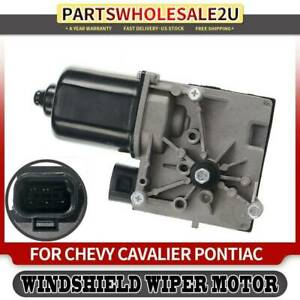 Windshield Wiper Motor For Pontiac Sunfire Chevy Cavalier 95 97 Front 40 1010