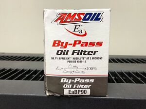 Amsoil Eabp90 Ea By pass Oil Filter Free Priority Shipping