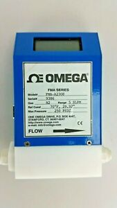Omega Mass Flow Meters And Controllers With Integral Display Fma a2308