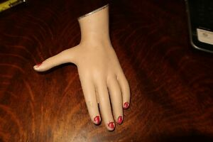 Vintage Mannequin Hand Left Nice Used Shape Free Shipping Inside The Us Child