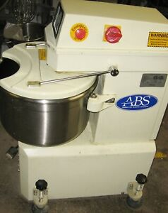 Abs Planetary Bakery Mixer With Spiral Dough Hook Sinmag American Baking Systems