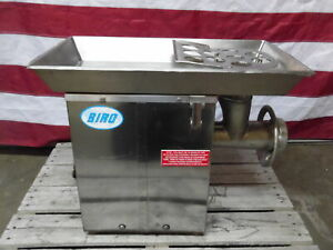 Biro Model 922 Tabletop Meat Grinder 220v 3p With Top Feed