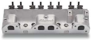 Edelbrock 60579 Cylinder Head 2 110 1 660 V 215cc In 87cc 1 460 For Pontiac V8