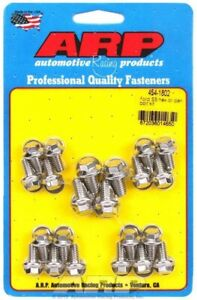 Oil Pan Bolt Kit Hex Head Stainless Polished For Ford Cleveland Modifi