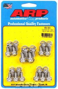 Oil Pan Bolt Kit 12 Point Head Stainless Polished For Ford Cleveland M