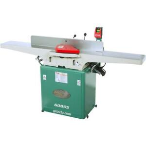 Grizzly G0855 8 X 72 Jointer With Built in Mobile Base