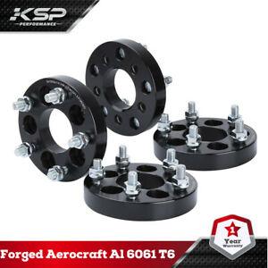 4x 1 25mm Wheel Spacers Adapters 5x100 To 5x114 3 5x4 5 For Toyota Chrysler