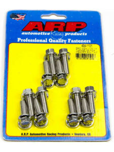 Arp Exhaust Header Bolts Hex Head 20mm Uhl 3 8 Chevy Ls Engine Qty12 434 1101