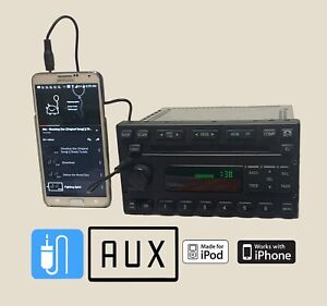 Ford Expedition F150 F250 Explorer Ranger 6cd Aux Mp3 Ipod Input Oem Stereo