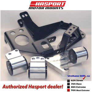 Hasport Eg dc Dual Height K series Mount Kit 92 01 For Civic Integra Egk2 62a