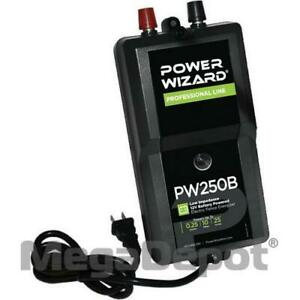 Power Wizard Pw250b Battery Electric Fence Charger 0 25 Joule Output