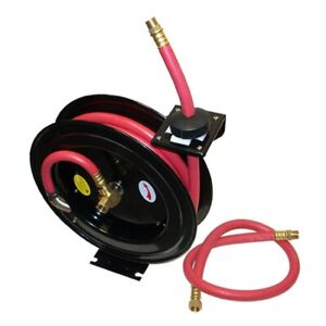 3 8 X 25 Retractable Air Hose Reel Wall Truck Mount 300 Psi
