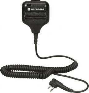 Motorola Two Way Radio Remote Speaker Microphone Use With Two Way Radios