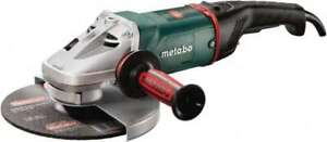 Metabo 9 Wheel Diam 6 600 Rpm Corded Angle Disc Grinder 5 8 11 Spindle