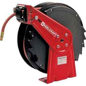 Reelcraft 50 Spring Retractable Hose Reel 300 Psi Hose Included