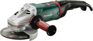 Metabo 7 Wheel Diam 8 500 Rpm Corded Angle Disc Grinder 5 8 11 Spindle