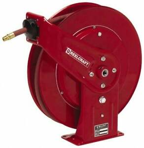 Reelcraft 70 Spring Retractable Hose Reel 300 Psi Hose Included