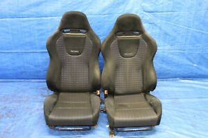 2003 Mitsubishi Lancer Evolution 8 Oem Recaro Lh Rh Front Seats Wear 561