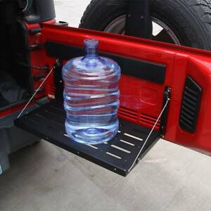 For Jeep Wrangler Jk 2007 2017 Foldable Tailgate Table Cargo Shelf Up To 75lb