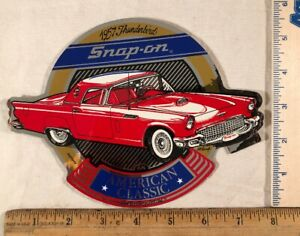 Vintage Snap On Tools Box 1957 Ford Thunderbird Decal Sticker American Classic