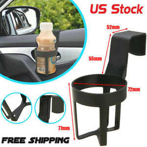 Hot Universal Car Truck Drink Water Cup Bottle Can Holder Door Mount Stand Black