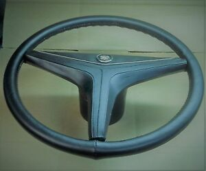 1971 71 1972 72 Cadillac Eldorado De Ville Steering Wheel Redone In Leather M