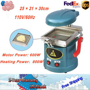 Dental Vacuum Molding Machine Material Forming Heat Vacuum Former Lab Equipment