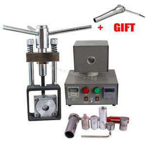Dental Flexible Denture Injection Partial Machine Heater Hot Press 3 way Syringe