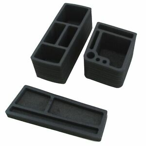 Vehicle Organizer Center Console Glovebox Inserts Fits Chrysler Pacifica 2017 19