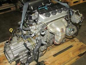Jdm Honda D17a Engine 1 7l Sohc Vtec Motor Automatic Transmission Civic 1 7l