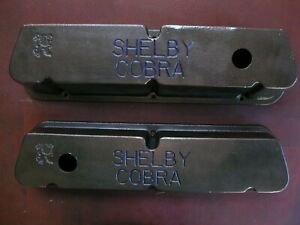 Ford 289 302 351w Custom Shelby Cobra Valve Covers With Grommets