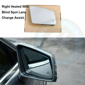 Blind Spot Lane Change Assist Right Rearview Wing Mirror Fit For Benz W204 W212