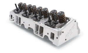 Edelbrock 60895 Small Block Chevy Cylinder Head 185cc 2 020 1 600 Valves