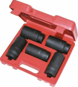 1 2 Dr Extra Deep 6 Point Sockets For Removing Installing Axle Nuts Mm