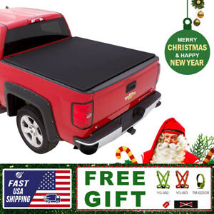 Fits 2015 2019 Ford F 150 6 5 Ft Bed Lock Soft Assemble Tri fold Tonneau Cover